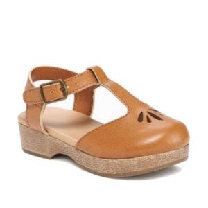 Old Navy Toddler Girls Faux Leather Clogs